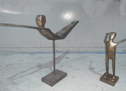 Sculptures from Mr Coventry