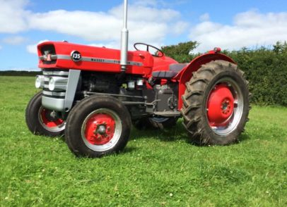 David Coulston - Cracking job done on spraying my tractor panels