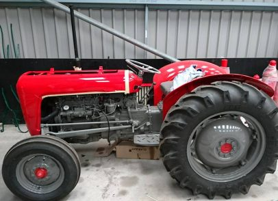 Massey Tractor after