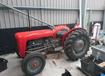 Massey Tractor before